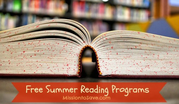 We love participating in Free Summer Reading Programs.