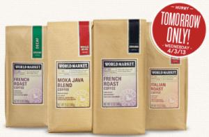 World Market BOGO Coffee