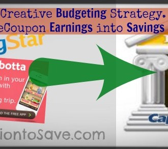Create Built in Budgeting with Capitol One 360 Savings Account and eCoupon Savings. (Read more on MissiontoSave.com)