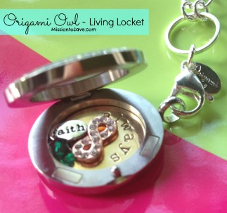 Origami Owl Giveaway on MissiontoSave.com