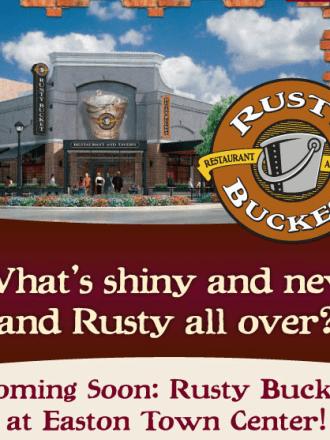 Rusty Bucket Easton Grand Opening