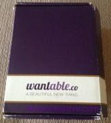 Wantable Jewelry Box