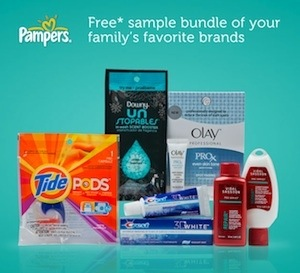 Walmart #PampersJoy Free PG Samples Pack