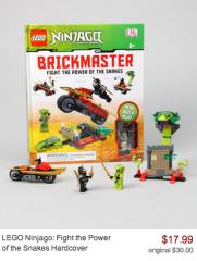 Zulily Lego sale Ninjago Brickmaster Book