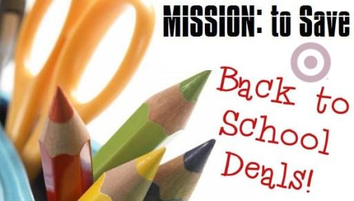 target Back to school deals