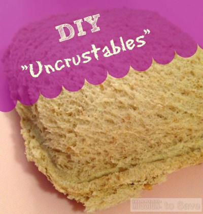 DIY Homemade Uncrustables are super easy! See how on missiontosave.com