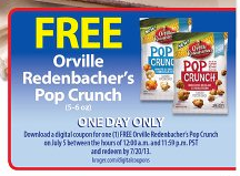 Kroger Free Friday Download Offer 7/5/13