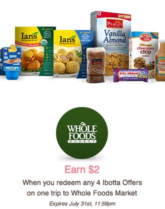 Ibotta Whole Foods