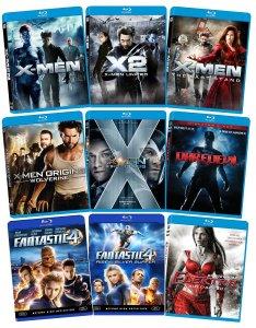 marvel blu-ray bundle x-men wolverine