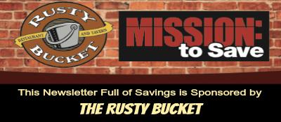 rusty bucket newsletter