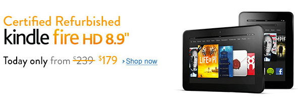 refurbished kindle fire