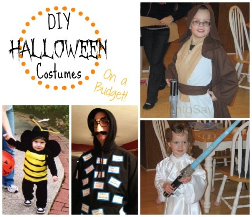 DIY Halloween Costumes (On a Budget) from Missiontosave.com