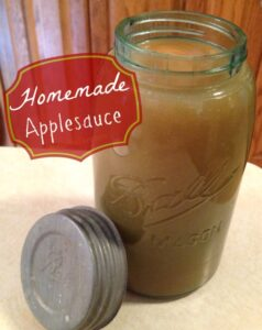 How to make Homemade Applesauce on missiontosave.com. It's so easy, and so good!