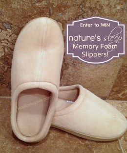 Win Nature's Sleep Slippers on MissiontoSave.com