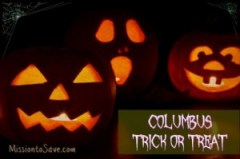 Central Ohio and Columbus Trick or Treat Times for 2013