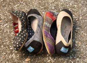 TOMS promo code tot save $10 and Free shipping