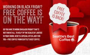 Seattle's Best Coffee Free Sample