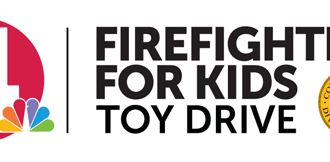 NBC4 Firefighters for Kids Toy Drive