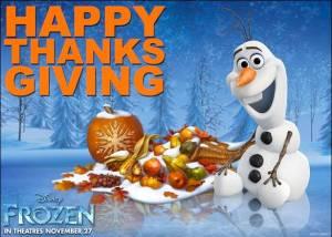 Disney Frozen Thanksgiving