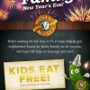 Rusty Bucket Kids Eat Free on New Years Eve! + $50 GIVEAWAY!