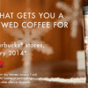 Get Free Starbucks in January When You Buy Refillable Tumbler (starts 12/9)
