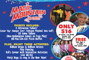Magic Mountain New Year's Eve Party
