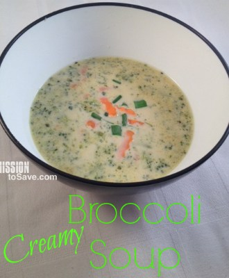 Creamy Broccoli Soup Recipe- Perfect meal idea for cold days!