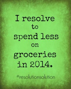 Let Mission to Save and Favado help you reach your grocery savings goal! #ResolutionSolution