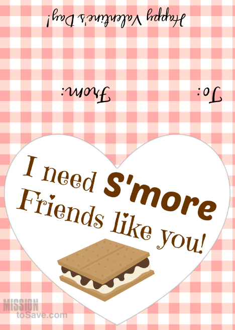 I Need Su0027more Friends Valentineu0027s Day Printable Tags