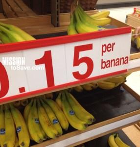 bananas at target
