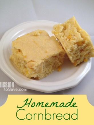 Make this homemade cornbread recipe and you will never use a box mix again!