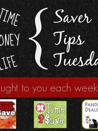 Come link up on Saver Tips Tuesday