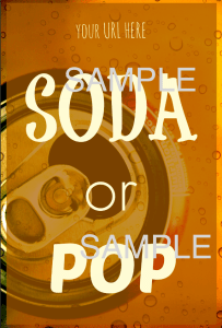 soda or pop