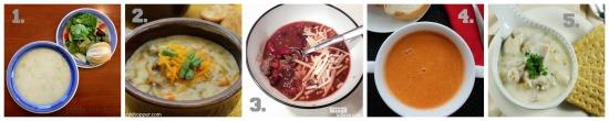 soup recipes 1-5