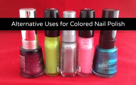 Alternative Uses for Colored Nail Polish