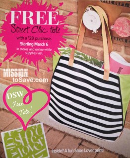 DSW Free Tote 3614