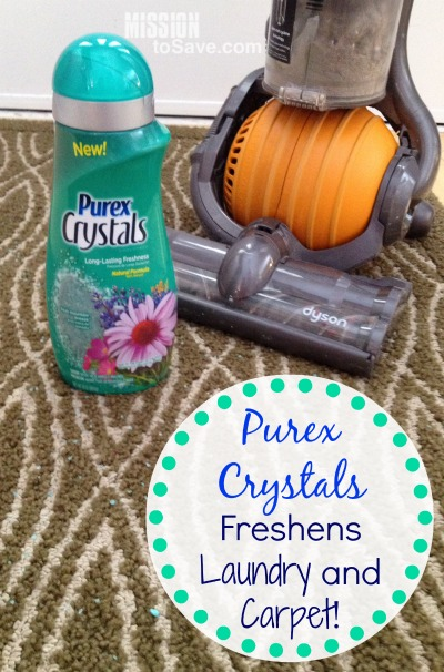 Purex Crystals Freshens Laundry and Carpet (Win 2 Free)