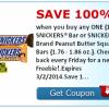 SavingStar Freebie Friday Offer: Free Snickers!