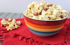irish cream popcorn