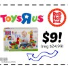 100 Piece Mega Blocks First Builders for $9 at Toys R Us (reg $24.99)