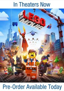Pre Order the LEGO Movie today!
