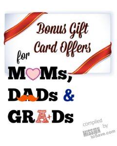 bonus gift card offers roundup