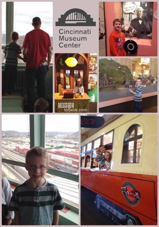 Cincinnati Museum Center Fun