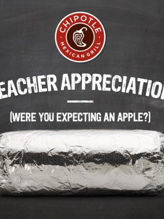 BOGO Chipotle Teacher Appreciation Offer