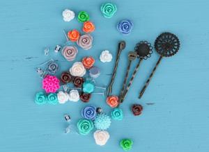 DIY Resin Flower Accessory Kit