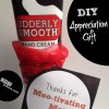 """Mootivating"" Appreciation Gift (Using Udderly Smooth and Chick-fil-A Items)"