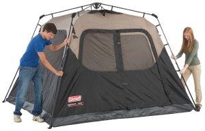 colman 6 person tent