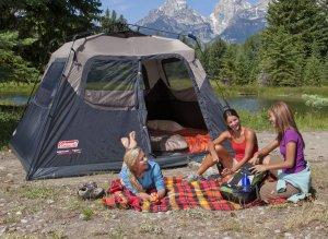 colman instant tent
