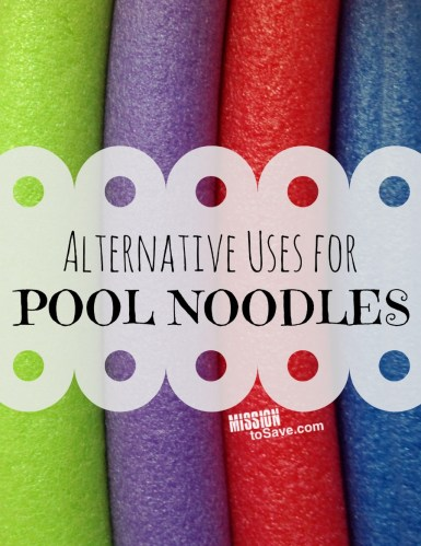 Get creative with DIY Alternative Uses for Pool Noodles!