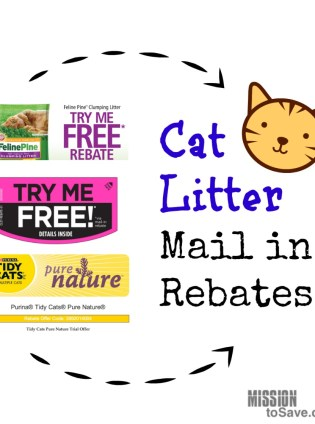 Free Cat Litter Mail in Rebates